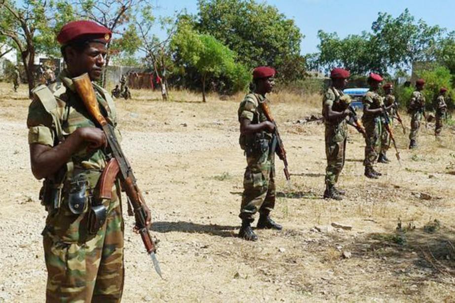 L'armée éthiopienne a pénétré en territoire sud-soudanais pour... (PHOTO ARCHIVES GETTY IMAGES)