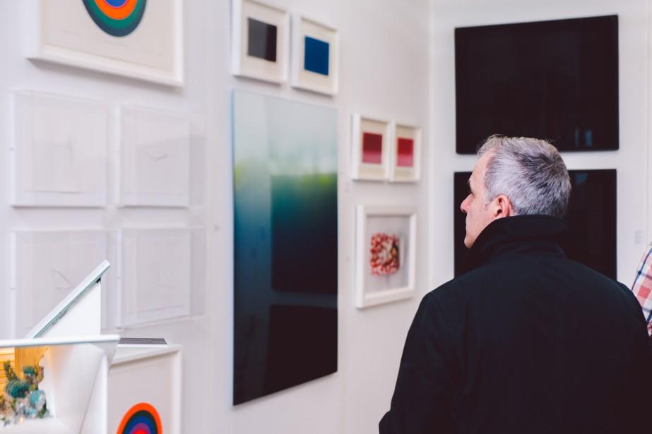 Les visiteurs pourront admirer les oeuvres de 300artistes... (Photo Jean-Michel Seminaro, fournie par l'AGAC)