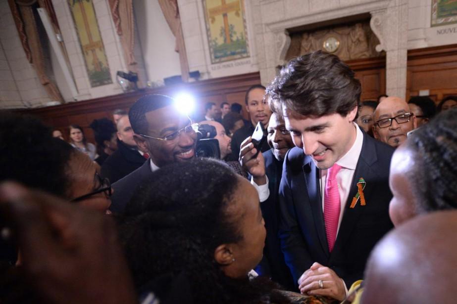 Le premier ministre Justin Trudeau... (PHOTO SEAN KILPATRICK, ARCHIVES PC)