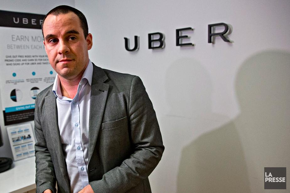 Le directeur général d'Uber au Québec, Jean-Nicolas Guillemette.... (PHOTO PATRICK SANFACON, ARCHIVES LA PRESSE)