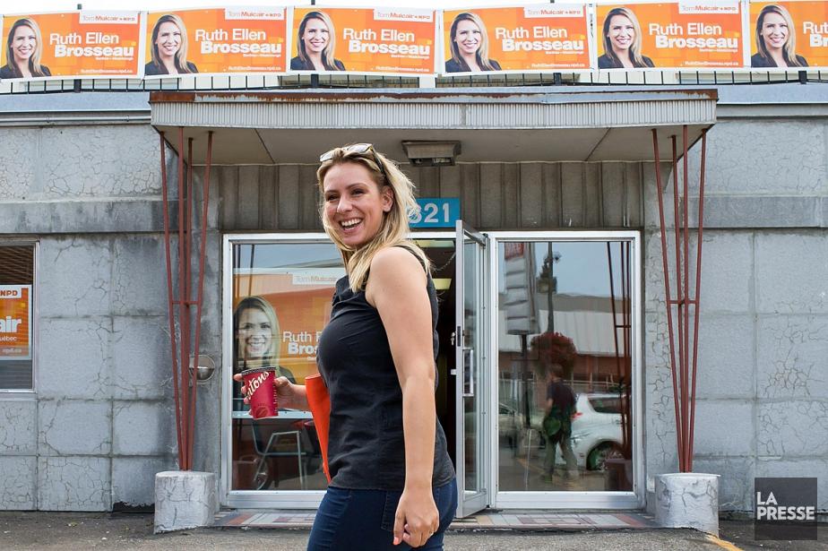 Ruth Ellen Brosseau, lors de la dernière campagne... (PHOTO MARTIN TREMBLAY, ARCHIVES LA PRESSE)