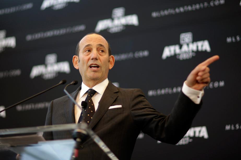 Le commissaire de la Major League Soccer, Don... (Photo David Goldman, archives AP)