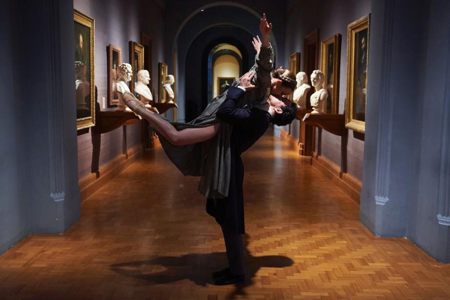 Les danseurs Hannah Bateman et Javier Torres du... (PHOTO AFP)