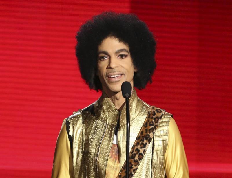 Le 22 novembre 2015, Prince participait aux American Music Awards, à Los Angeles. (AP, Matt Sayles)