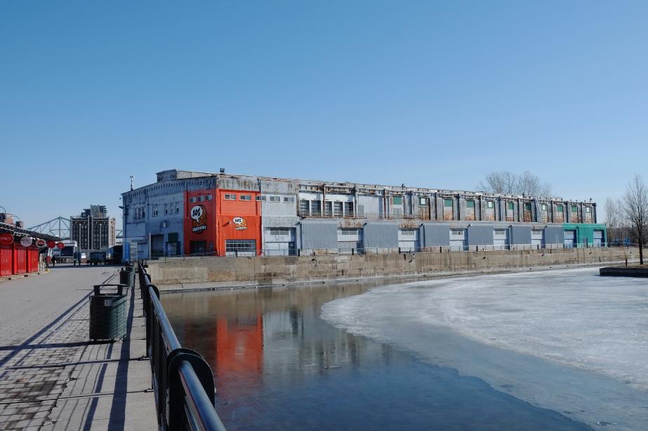 Le Hangar 16, dans le Vieux-Port de Montréal,... (PHOTO JEANNE CASTONGUAY, FOURNIE PAR L'ASSOCIATION DES GALERIES D'ART CONTEMPORAIN)