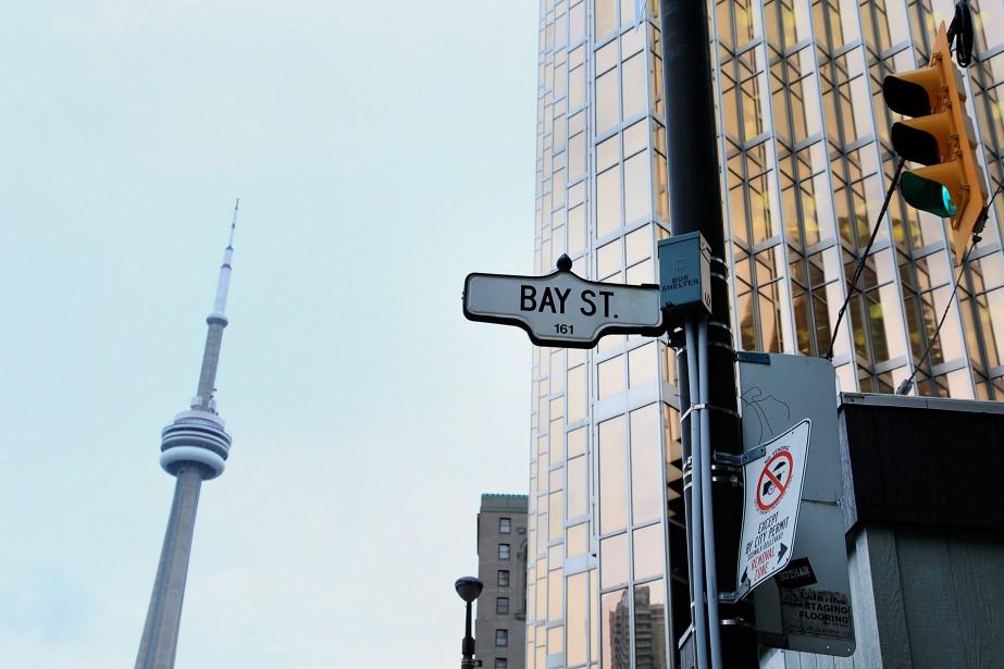 Les marchés immobiliers de Toronto et Vancouversont les... (PhotoReynard Li, Archives Bloomberg)