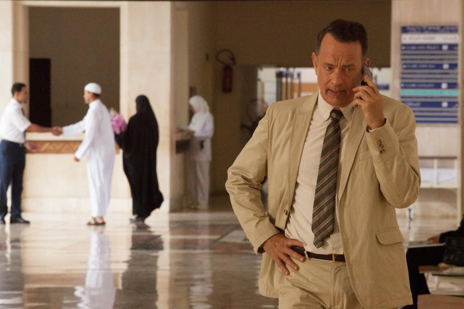 Tom Hanks dans le film A Hologram for... (PHOTO FOURNIE PAR LES FILMS SÉVILLE)