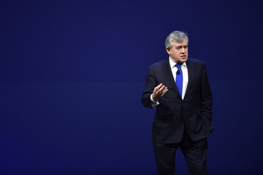 L'ancien premier ministre britannique, le travailliste Gordon Brown... (PHOTO ARCHIVES ASSOCIATED PRESS)
