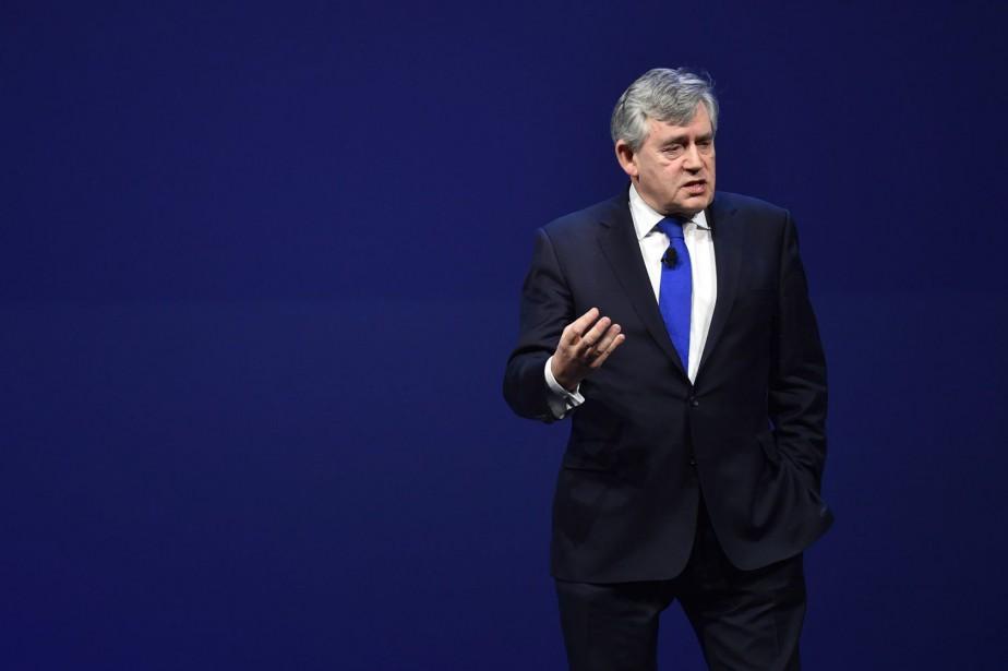 Gordon Brown a été premier ministre du Royaume-Uni... (PHOTO ARCHIVES ASSOCIATED PRESS)