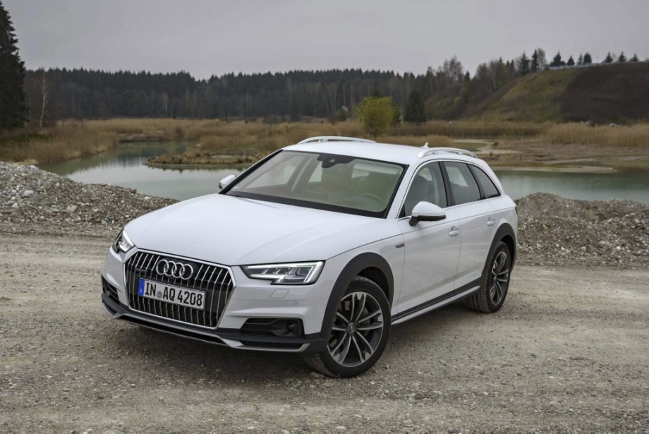 Audi A4 Allroad 2017. Photo : Audi AG...