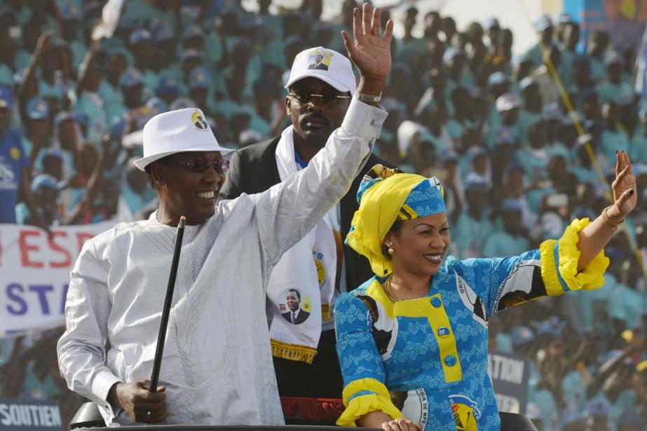 Le présidentIdriss Deby Itno, au pouvoir au Tchad... (PHOTO ISSOUF SANOGO, ARCHIVES AFP)