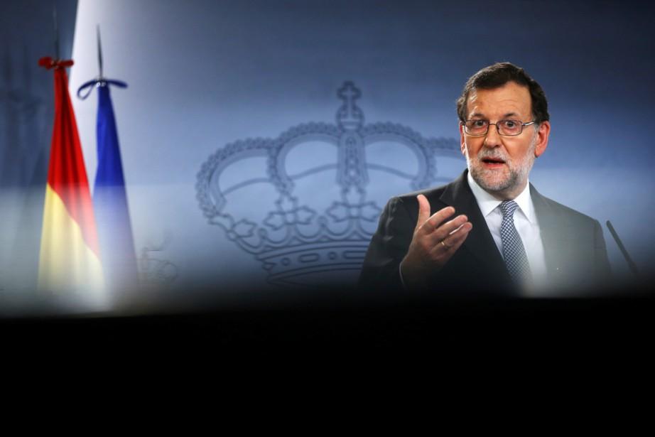 L'ancien premier ministre espagnol Mariano Rajoy... (PHOTO SUSANA VERA, ARCHIVES REUTERS)