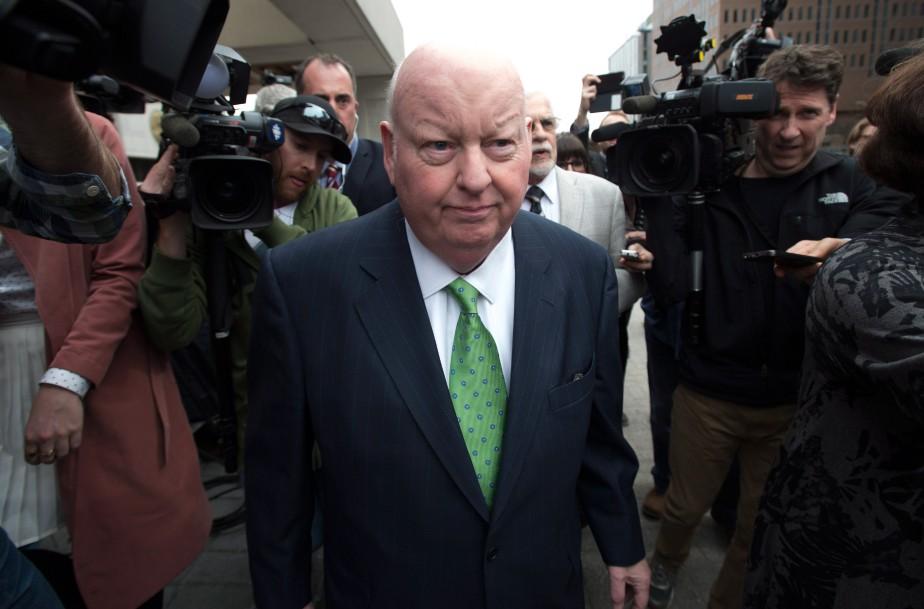 Les frais de déplacement de Mike Duffy étaient... (PhotoAdrian Wyld, La Presse Canadienne)