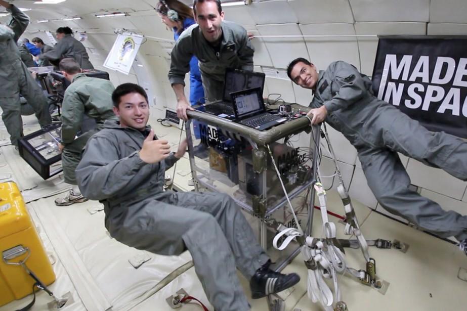La société Made in Space a conçu la... (Photo tirée du site Techcrunch.com)