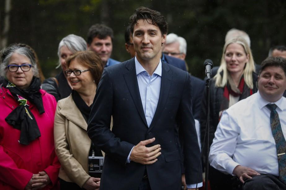 Justin Trudeau affirme qu'il est important pour ses... (Photo La Presse Canadienne)
