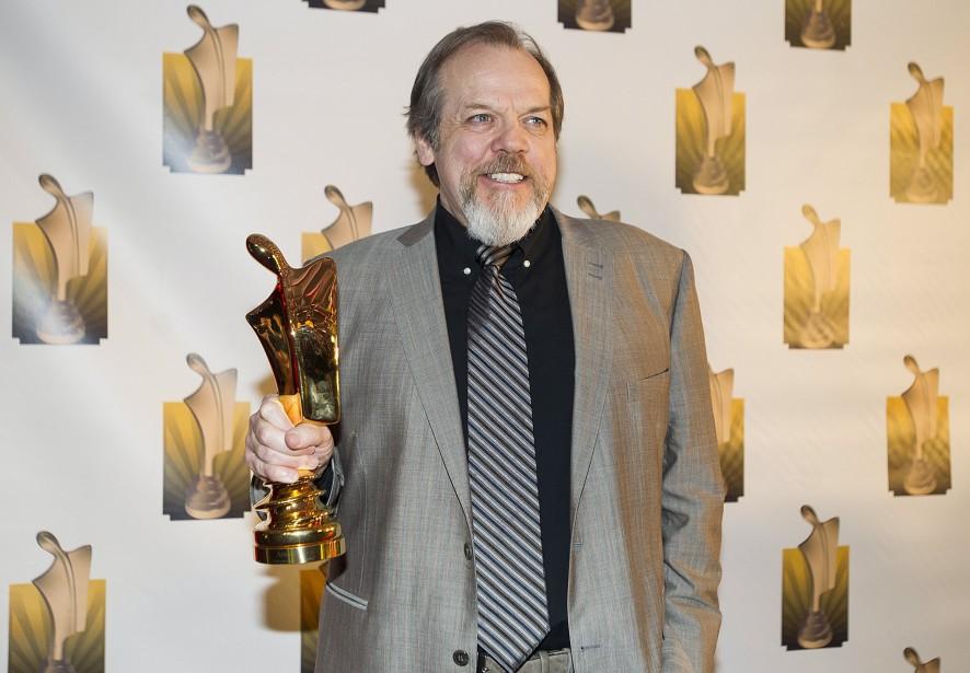 Guy Nadon a été déclaré gagnant pour le rôle masculin dans un téléroman grâce à son travail dans «O'». (La Presse Canadienne, Graham Hughes)