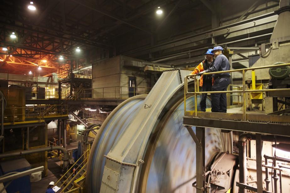 La mine Raglan... (Photo fournie par Glencore)