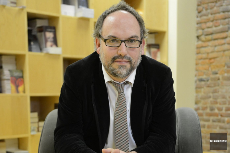Antoine Tanguay, éditeur d'Alto... (PHOTO STEVE DESCHÊNES, ARCHIVES LE NOUVELLISTE)