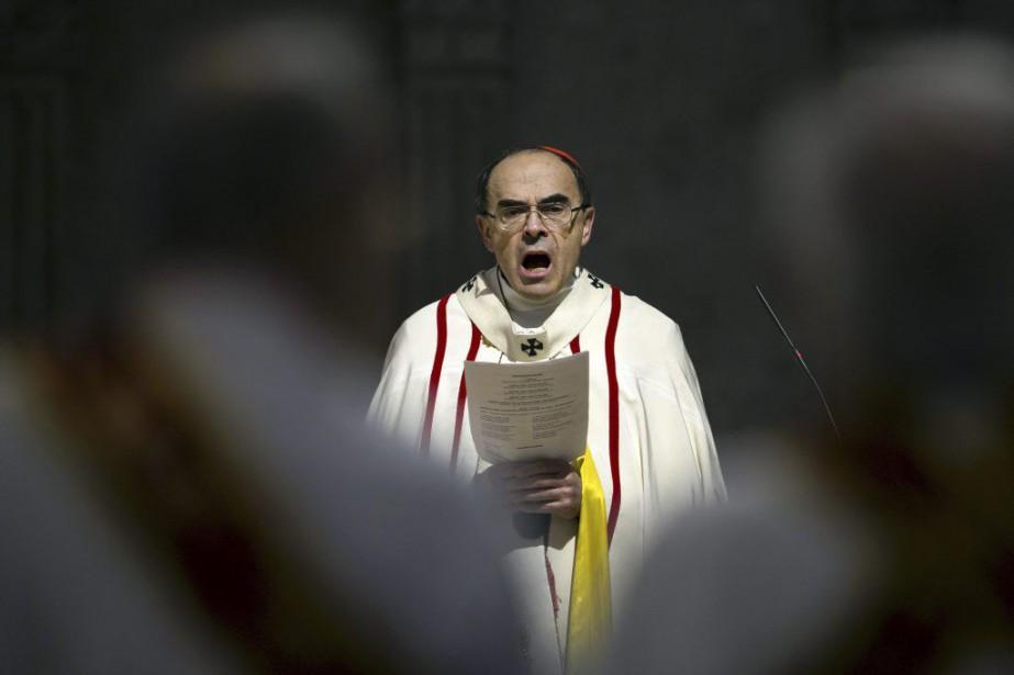 Figure influente et médiatique de l'Église catholique en... (Photo AP)