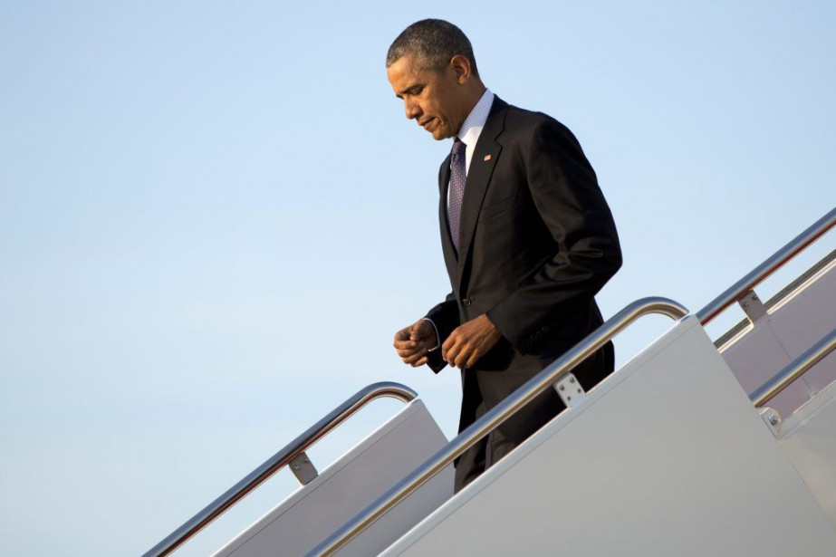 Le président Obama s'exprimait dans les dernières heures... (Photo AP)