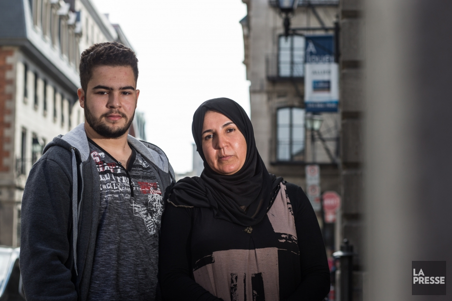 Nadia Chikhi et son fils Adel sont de... (photo hugo-sébastien aubert, la presse)