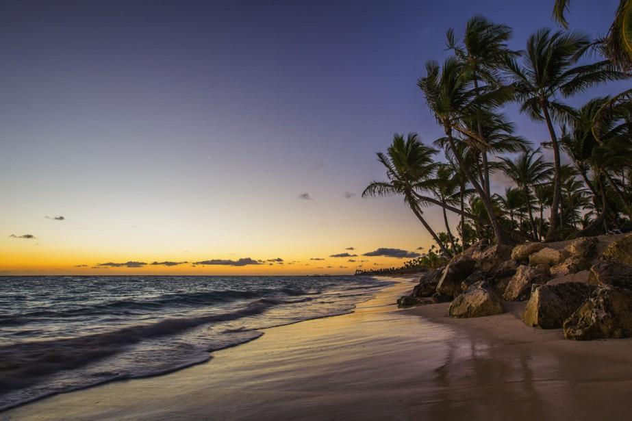 Une plage de Punta Cana, en soirée.... (PHOTO THINKSTOCK)