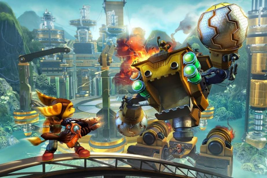 Ratchet&Clankest un jeu énergique de plateforme....