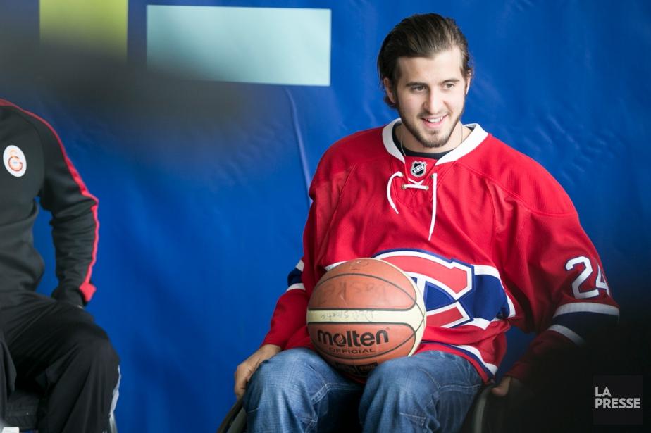 L'attaquant du Canadien PhillipDanault a participé à un... (Photo François Roy, La Presse)