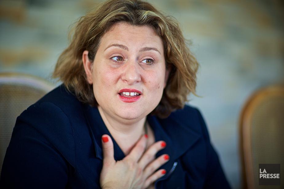 La présidente de la CSDM, CatherineHarel-Bourdon.... (PHOTO ANDRÉ PICHETTE, ARCHIVES LA PRESSE)