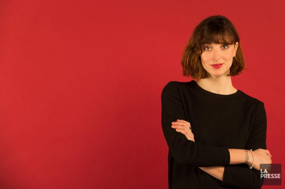 Sarah-Maude Beauchesne adapte elle-même son roman Coeur de... (PHOTO IVANOH DEMERS, LA PRESSE)
