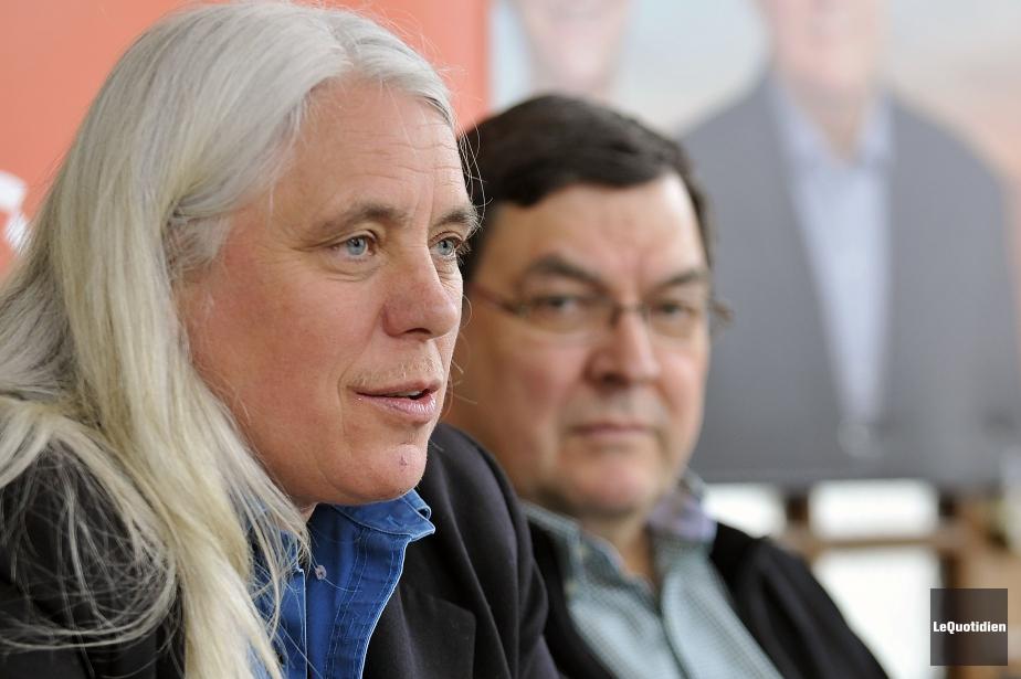 La députée de Québec solidaire, Manon Massé.... (PHOTO ROCKET LAVOIE, LE QUOTIDIEN)