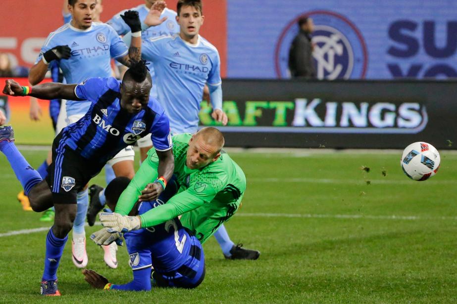 Dominic Oduro a marqué le but égalisateur de... (Photo Frank Franklin II, AP)