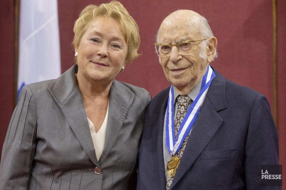 En 2013, Michal Hornstein était nommé Grand Officier... (PHOTO IVANOH DEMERS, ARCHIVES LA PRESSE)