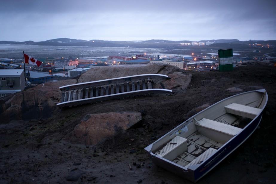 Iqaluit, au Nunavut... (Photo The New York Times)