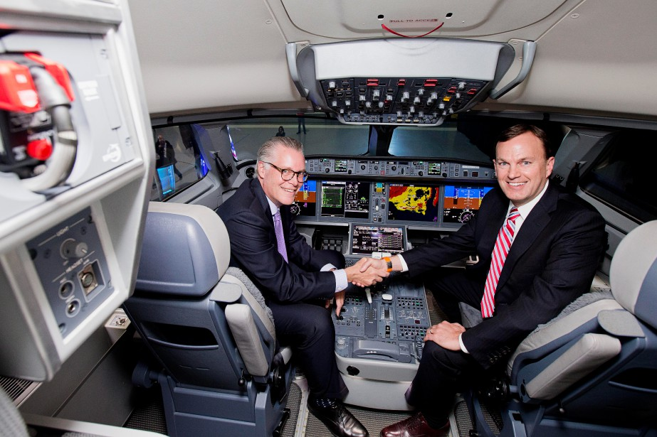Ed Bastian, le grand patron de Delta Airlines,... (PHOTO ALAIN ROBERGE, LA PRESSE)
