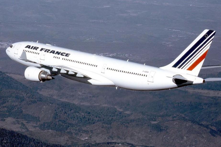 Le trafic passagers d'Air France-KLM a enregistré en... (PHOTO ARCHIVES AFP)