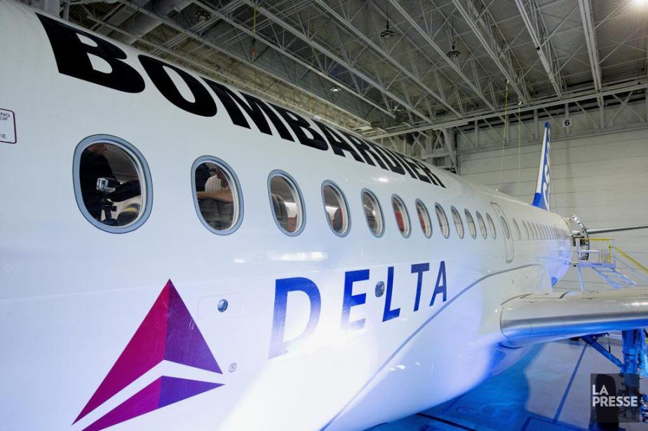 Bombardier a obtenu un contrat majeur du transporteur... (PHOTO ALAIN ROBERGE, LA PRESSE)