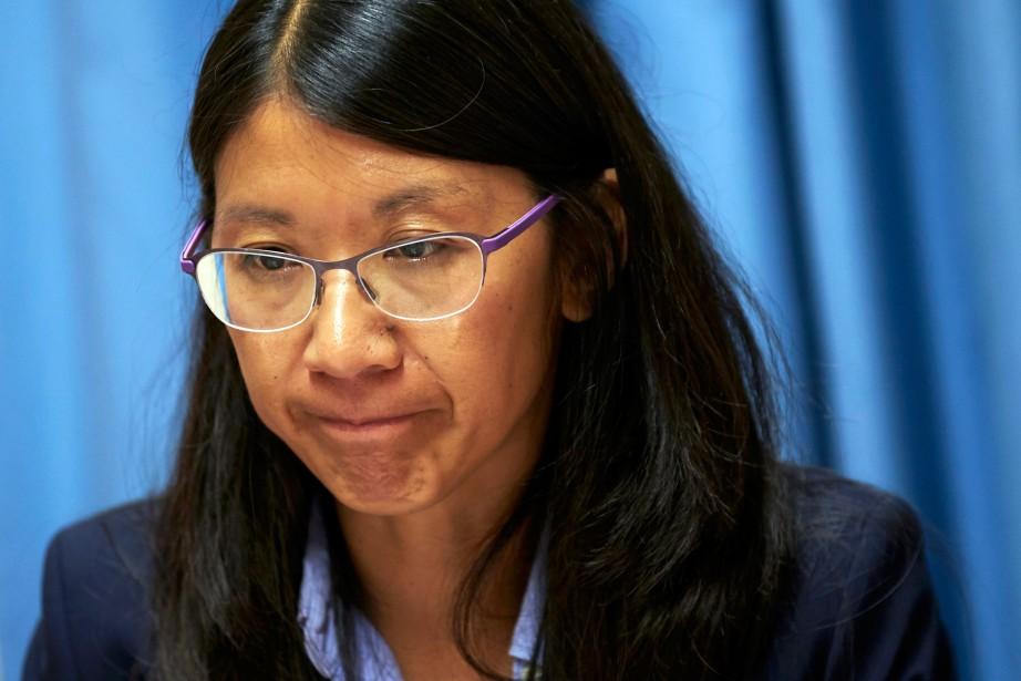 La présidente internationale de Médecins sans frontières,Joanne Liu,doit... (PHOTO DENIS BALIBOUSE, ARCHIVES REUTERS)