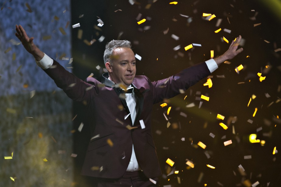 Guy Jodoin a animé dimanche dernier le Gala... (PHOTO OLIVIER JEAN, LA PRESSE)
