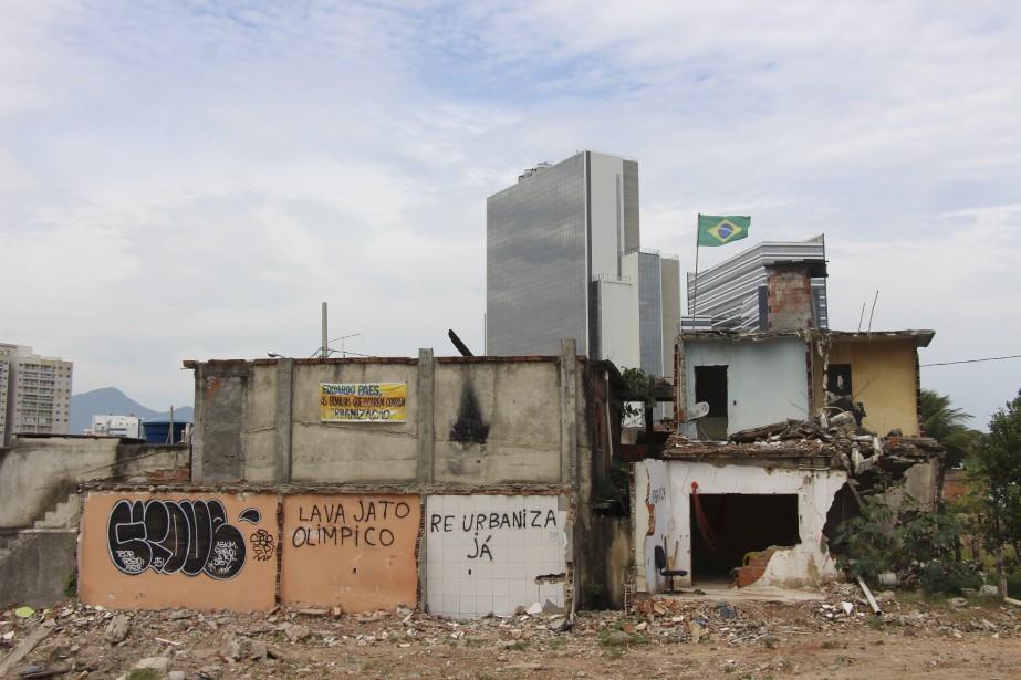 «[Vila Autodromo est] déjà ré-urbanisée.» (Collaboration spéciale Guillaume Piedboeuf)