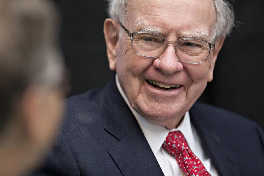 Warren Buffett, 85 ans, n'a pas soufflé mot... (PHOTODaniel Acker, Archives Bloomberg)