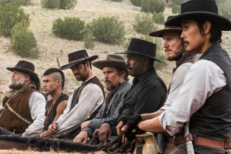 Ethan Hawke, Denzel Washington, Vincent D'Onofrio, Byung-hun Lee,... (PHOTO FOURNIE PAR COLUMBIA PICTURES)