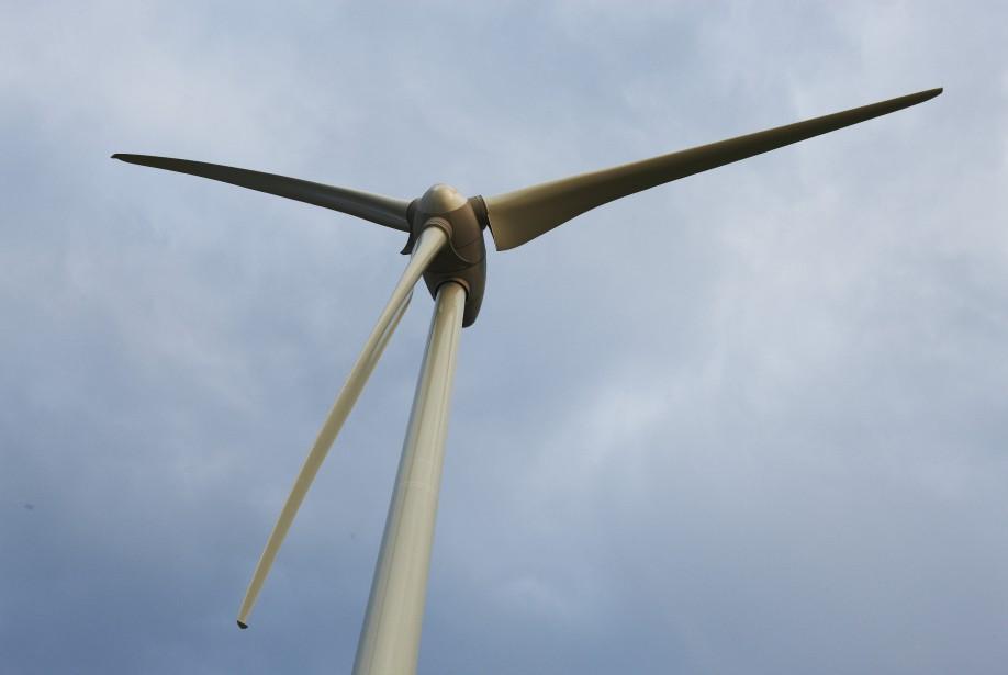 Éoliennes du Groupe Boralex à Thames River ()