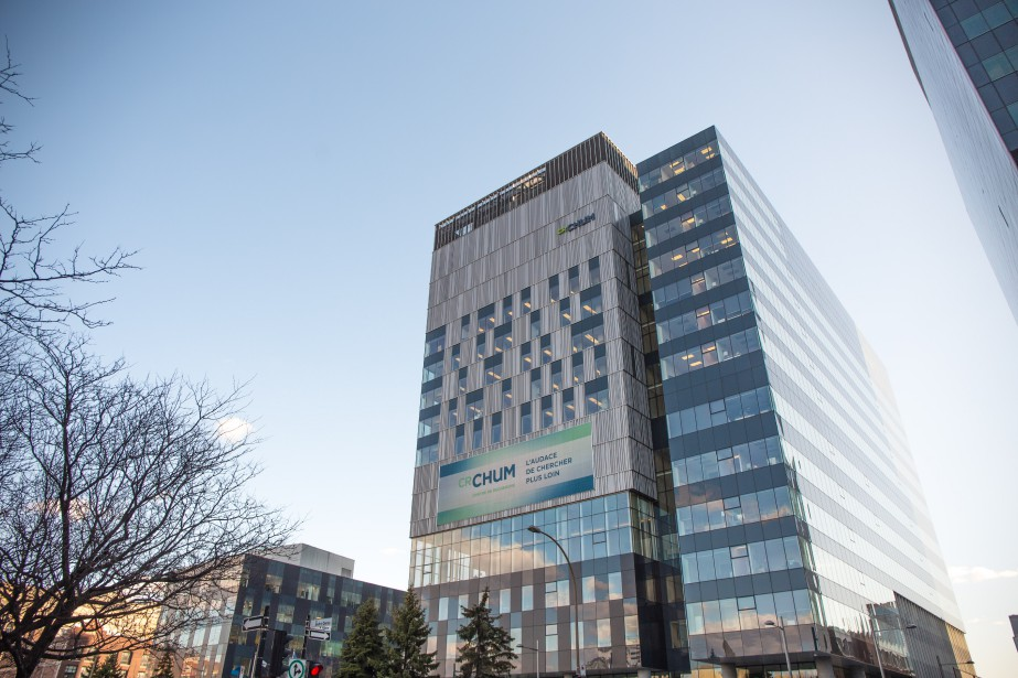Centre de recherche du CHUM (Crédit photo : MANNY)