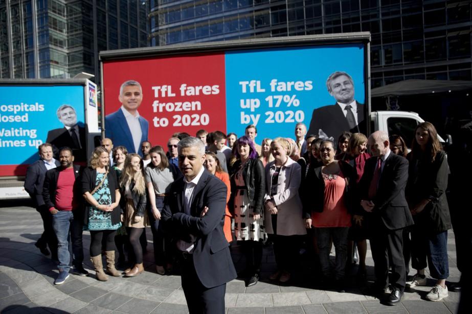 Le candidat travailliste à la mairie de Londres... (PHOTO MATT DUNHAM, AP)