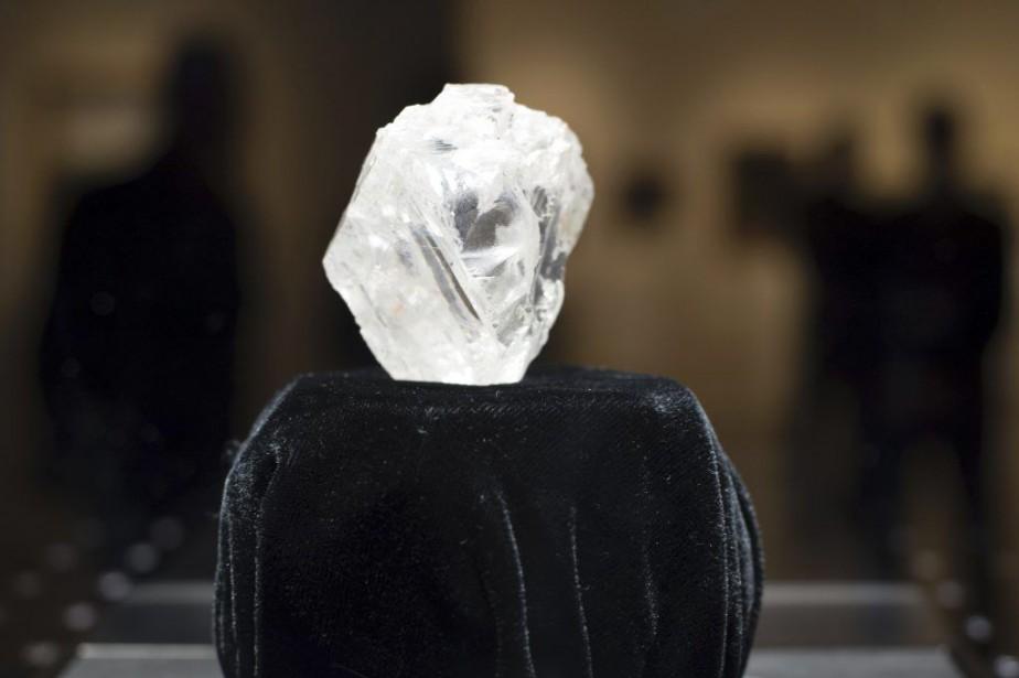 Le diamant «Lesedi la Rona» a été découvert... (PHOTO DON EMMERT, AFP)