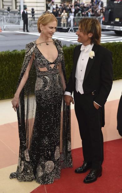 Nicole Kidman et Keith Urban (AFP, Timothy A. Clary)