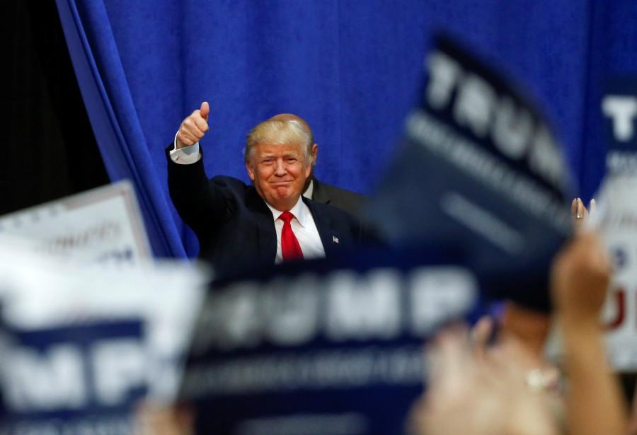 Donald Trump a déclaré hier aux médias américains... (PHOTO KAMIL KRZACZYNSKI, REUTERS)