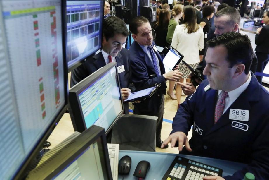 «La majorité des investisseurs attendent les chiffres de... (Photo Richard Drew, AP)