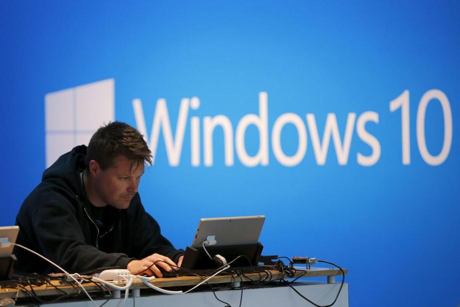 L'Autorité indique avoir examiné plusieurs versions de Windows... (PHOTO ROBERT GALBRAITH, ARCHIVES REUTERS)